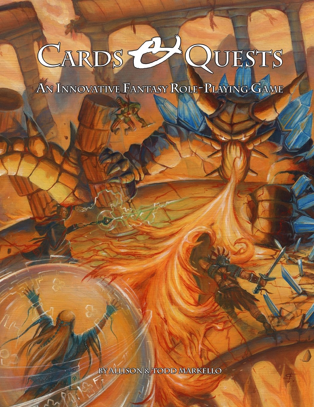 Cards & Quests RPG, Published by Skirmisher LLC